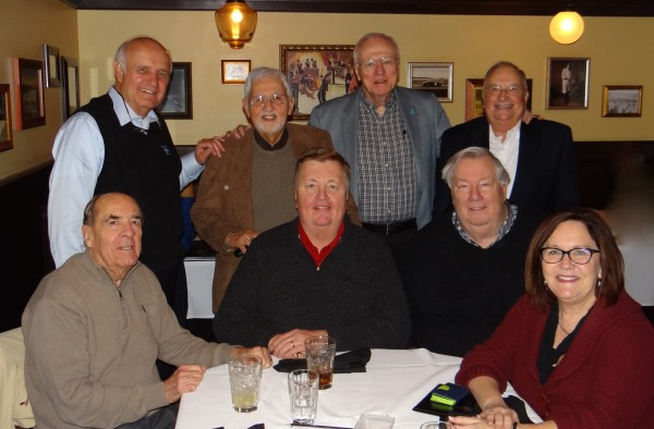 Seated-Ed Godfrey, Rick Gevers, Paul Davis, Lucy Himstedt  Standing-Ray Depa, Lou Prato, Tom Becherer, Lee Giles
